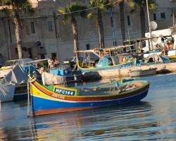 Marsaxlokk-satul pescăresc plin de culori al Maltei