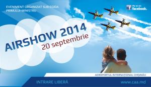 """Pe 20 septembrie avem în program-""""Airshow 2014"""""""