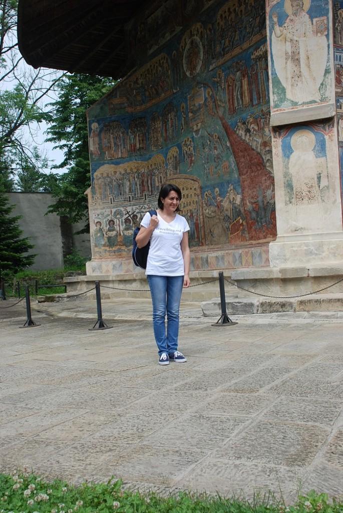 La Mănăstirea Voroneţ