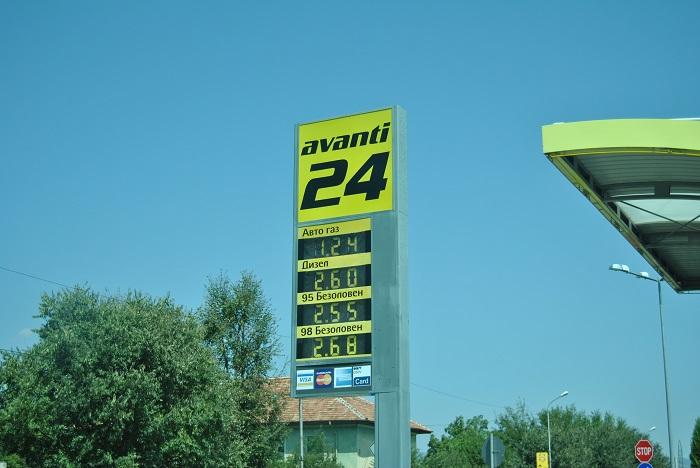 Benzinărie Bulgaria
