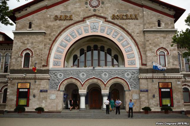 Gara feroviară din Chişinău