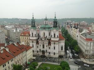 Praga văzută din Turnul Primăriei (Foto)