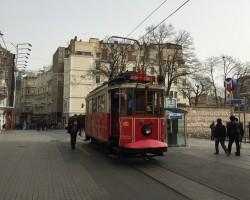 A treia zi în Istanbul/Cartierul Beyoğlu