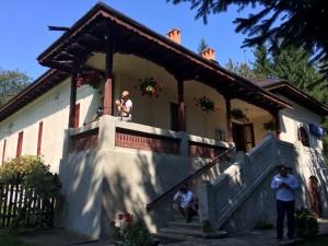 La Casa memorială Mihail Sadoveanu şi Muzeul Visarion Puiu din Vânători-Neamț