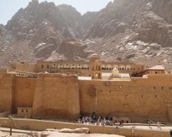 Sinai. La picioarele Munţilor Moise