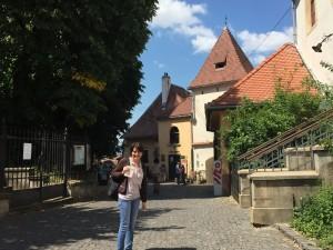 Impresii din Sibiu: Spre strada Cetății