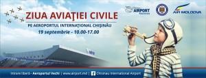 Programul Zilei Aviaţiei Civile la Aeroportul Internaţional Chişinău, 19 septembrie 2015