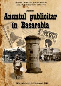 """""""Anunţul publicitar în Basarabia"""" – noutăţi de la Muzeul Naţional de Istorie"""