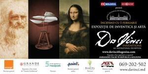 Celebrele invenţii ale lui Leonardo Da Vinci-în premieră la Chişinău