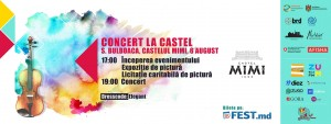 Moldo Crescendo Classical Music Festival-Concert la Castelul Mimi – Concert de închidere