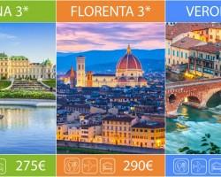 (Română) (3) Ofertele agențiilor de turism #primăvara2017 – Viena, Florența, Verona
