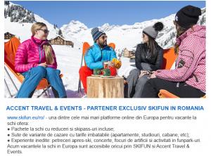 SKIFUN – platformă de rezervări online pentru vacanțe la ski