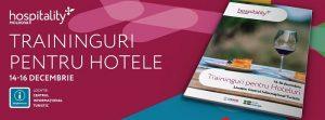 Vânzări efective într-un hotel. 3 zile de traininguri gratuite pentru îmbunătățirea nivelului calității serviciilor hoteliere