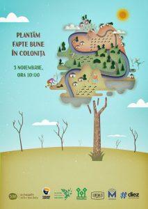 Plantăm fapte bune în Colonița, eveniment organizat de Million Trees Moldova