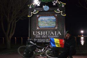 Un român a făcut imposibilul. 34.554 de km pedalați și alți 4.100 de km navigați, de la Deadhorse în nordul Alaskăi până la Ushuaia, în sudul Țării de Foc
