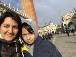 Veneţia în februarie. Impresii de călătorie. Destinaţie preferată de fiul meu