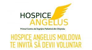 (Utile) Hospice Angelus Moldova te invită să devii voluntar