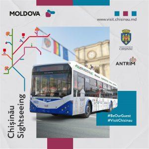 Primăria Municipiului Chișinău și ANTRIM lansează proiectul: Troleibuzul turistic-Chișinău Sightseeing